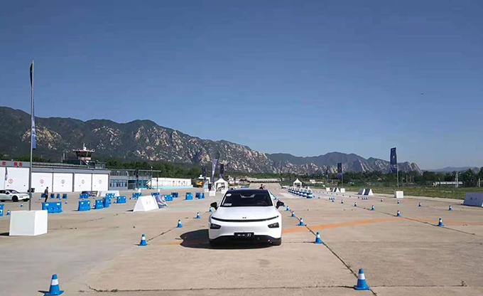 2020小鹏P7性能试炼场 北京站