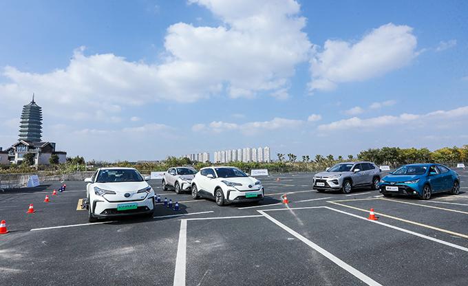 2020丰田纯电试驾体验活动 杭州站