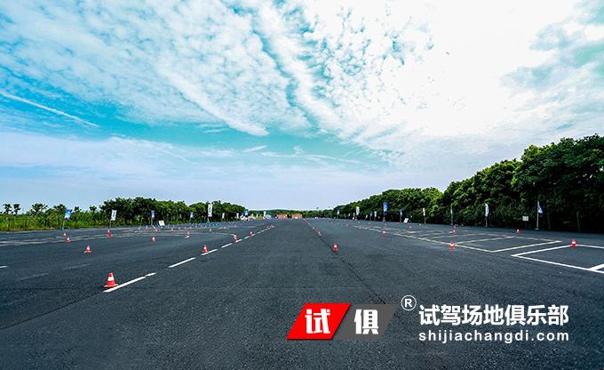 杭州钱江世纪 试驾场地