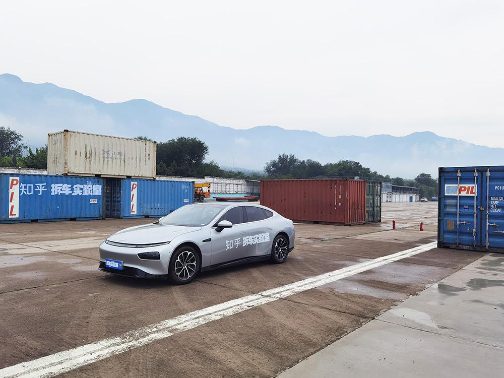 2021 知乎·拆车实验室 小鹏汽车测试活动拍摄